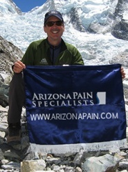 Arizona Pain CLimbs Mt Everest