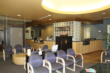 Scottsdale Pain Clinic Lobby and Front Desk