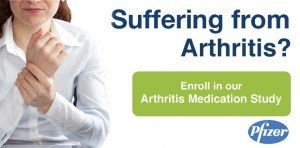 pfizer arthritis medication study
