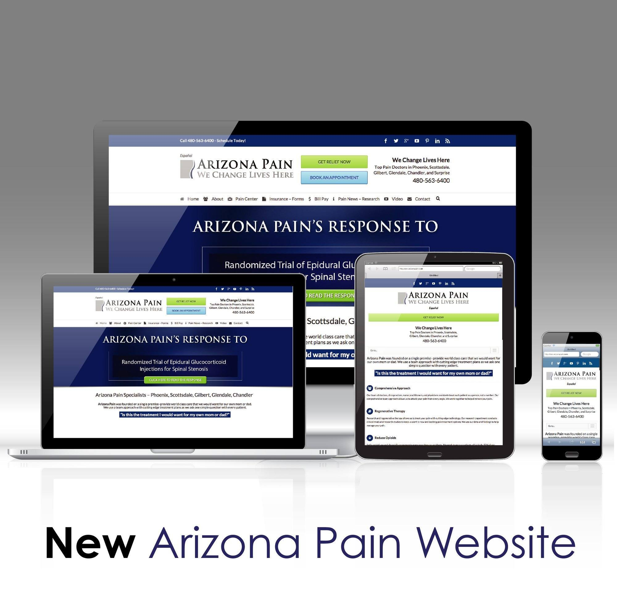 Arizona Pain website