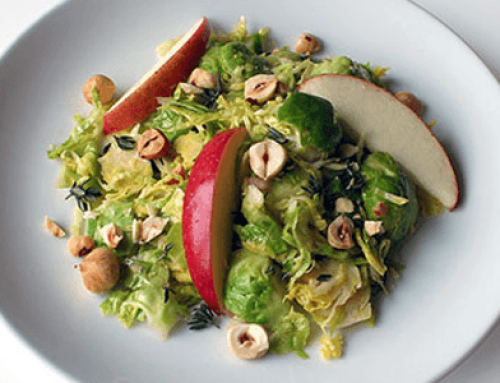 Recipe: Brussels Sprouts Salad