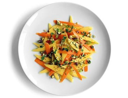 Try a Yummy Caribbean Carrot and Mango Salad